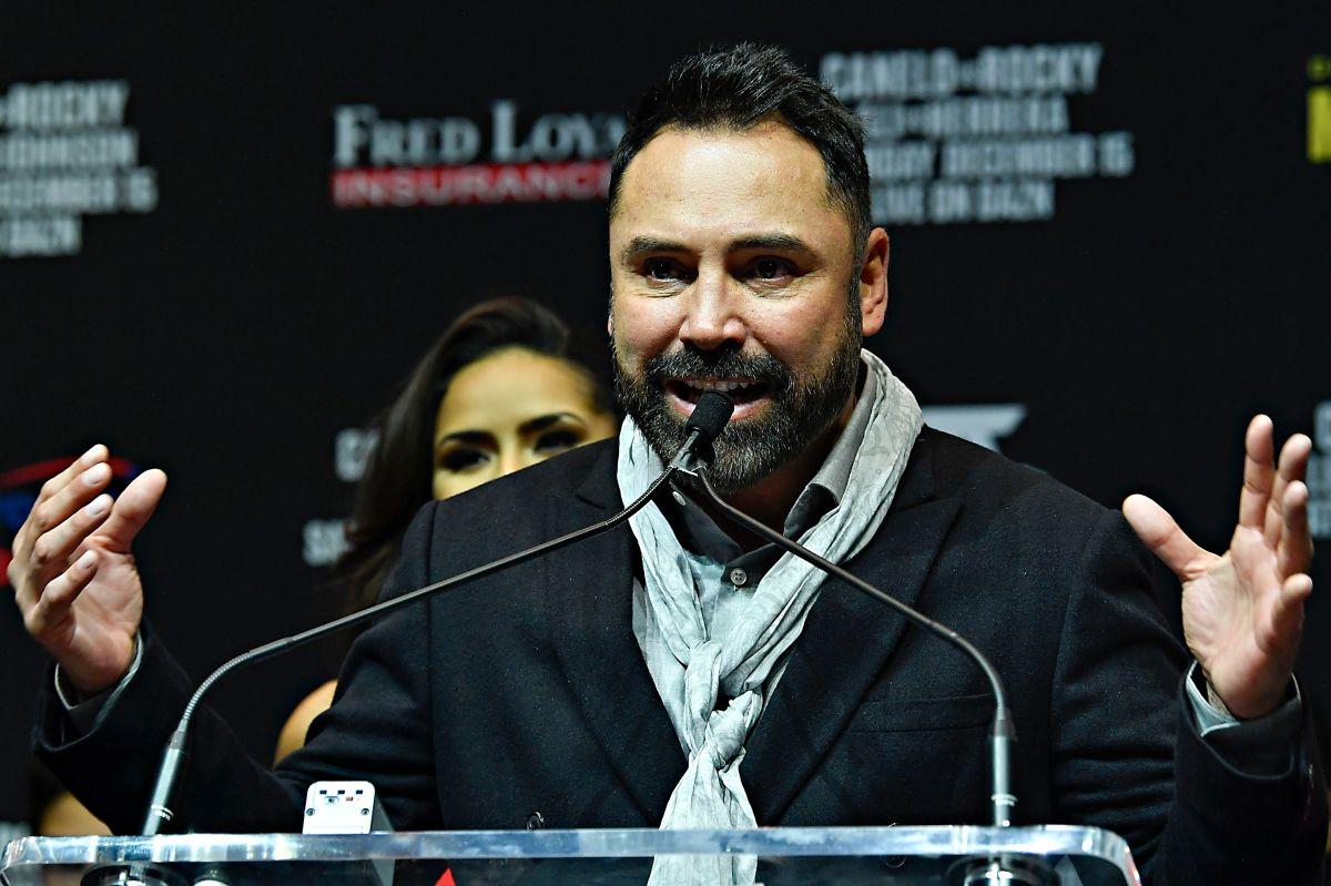 El ex boxeador le llamó a Dan Beckerman para proponer el intercambio.