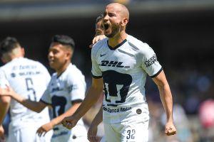 ¡Acecha récord felino! Carlos González muy cerca de superar a Nico Castillo como goleador de Pumas