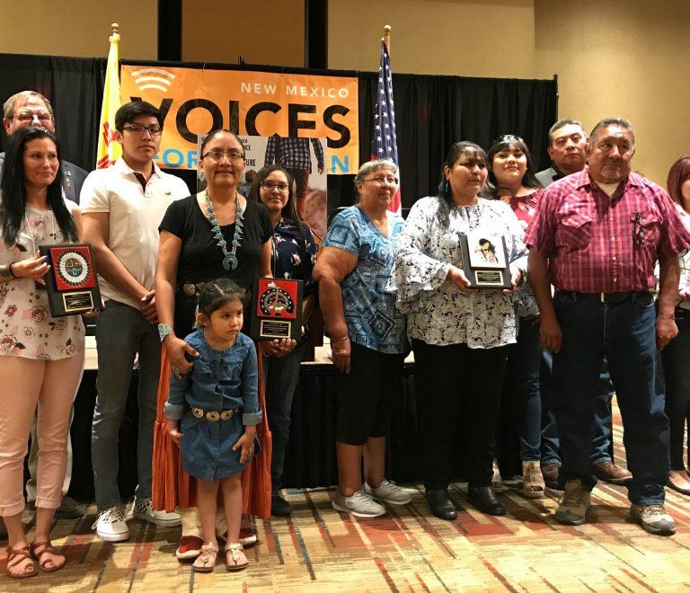 Familias que participaron en la demanda contra el estado de Nuevo Mexico.