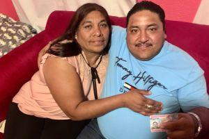 Víctima de herida con machetazo recibe la visa U para él y su esposa