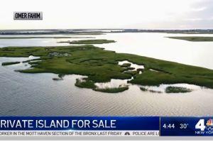 ¿Quiere tener una isla privada cerca de Nueva York? Sólo necesita mil dólares al mes