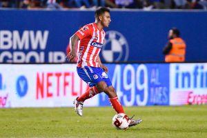 Jugador del San Luis sufre accidenteautomovilístico