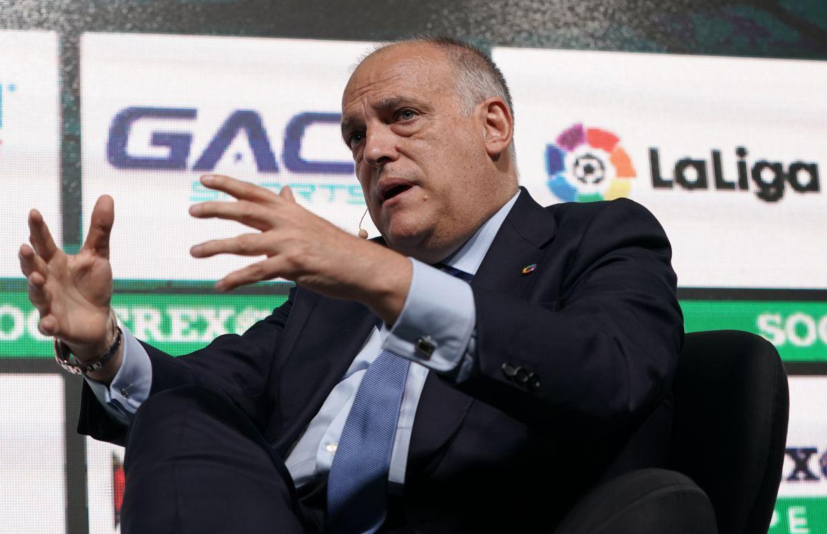 Javier Tebas, Presidente de LaLiga, considera que los Mundiales deben mantenerse igual