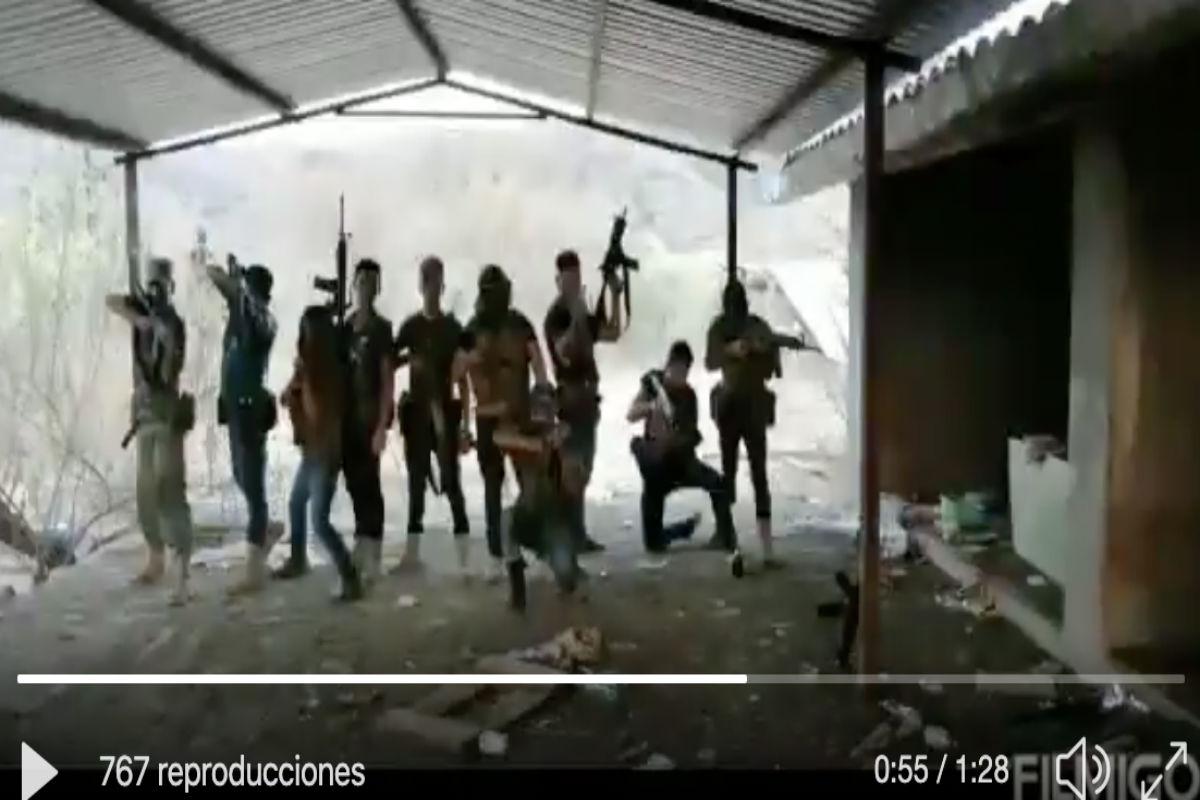 VIDEO: La Nueva Familia Michoacana presume que hizo huir a los del CJNG