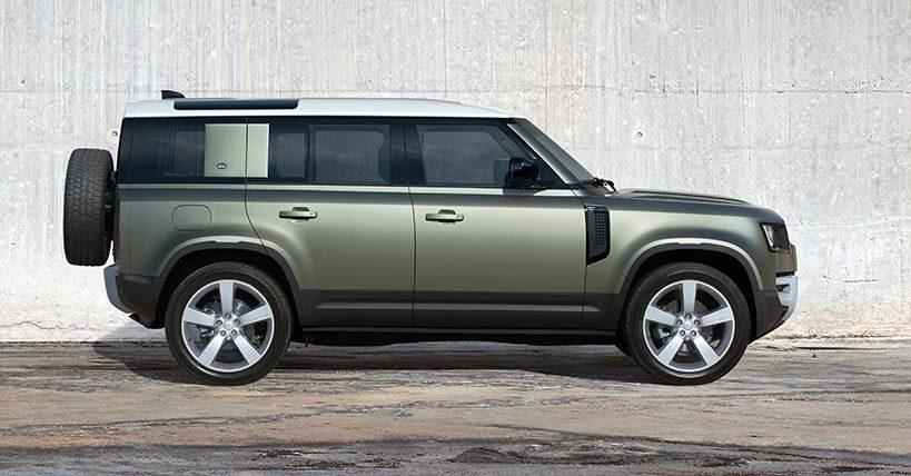 Land Rover Defender Crédito: Cortesía Land Rover