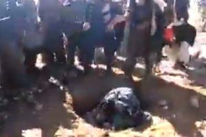 Video muestra ejecución a pedradas de mujer en Afganistán; comisión de derechos humanos investiga