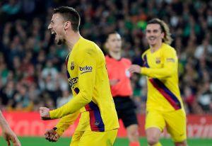 Los azulgrana sufren cada partido: el Barcelona vino de atrás dos veces y resolvió en casa del Betis