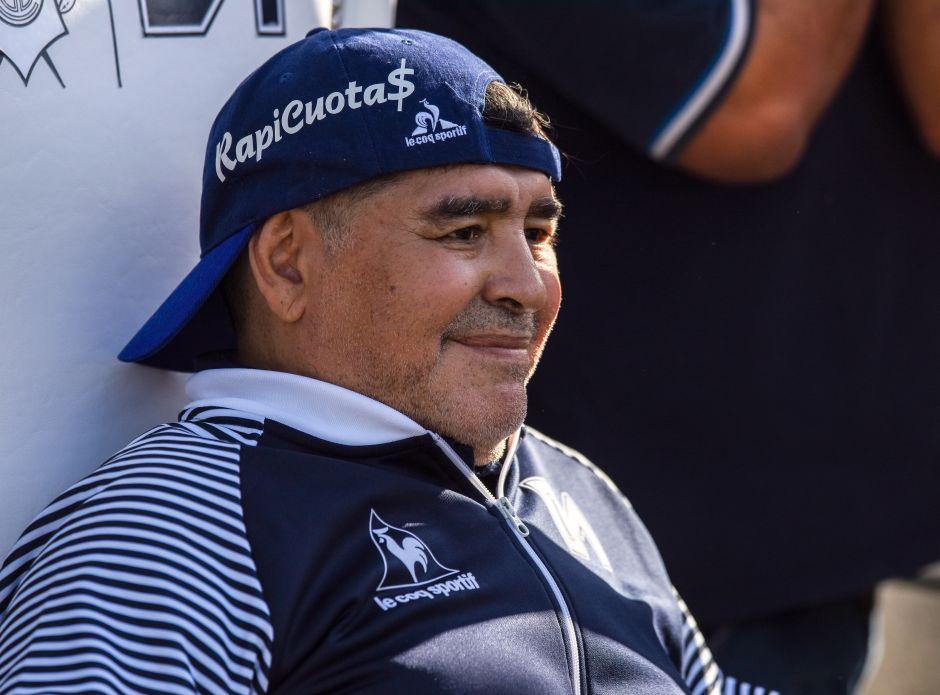 Las hijas de Diego Maradona, Dalma y Gianinna, están preocupadas por cómo vive su padre actualmente