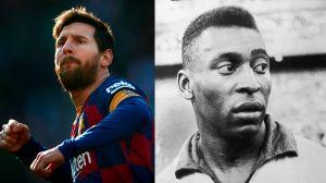 Messi le pisa los talones a Pelé: hará caer récord de más de cinco décadas