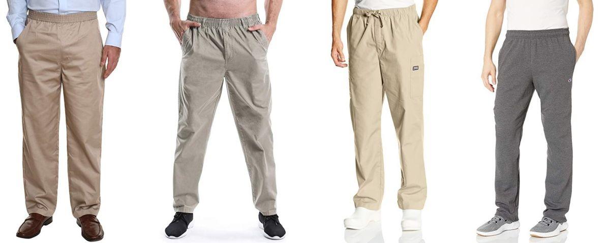 7 Opciones De Pantalones Con Elastico Para Hombres Que Estan En Sobrepeso Y Necesitan Comodidad La Opinion