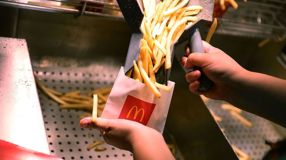 De qué están hechas realmente las papas de McDonald's