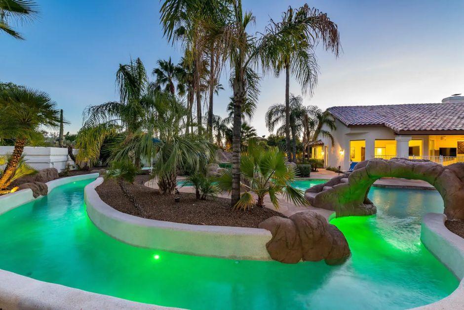 Un paraíso en Arizona: la casa en renta de Airbnb que ...