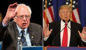 """Trump pide votar por """"el loco"""" Sanders para él ser reelecto más fácil"""