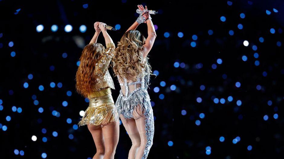 Se desataron las carcajadas con la memiza del show de Shakira y JLo