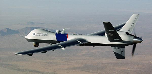 Un dron de $16 millones de dólares que detecta migrantes en la frontera no refleja efectividad