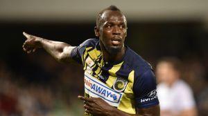 Aficionado de lujo: Usain Bolt apoya a Cruz Azul para la Concachampions