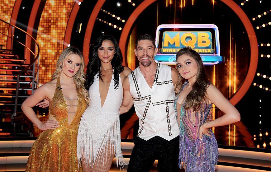 Los cuatro semi-finalistas de 'Mira Quién Baila All Stars'