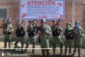 """El CJNG anuncia """"toque de queda"""" en Estado de México"""