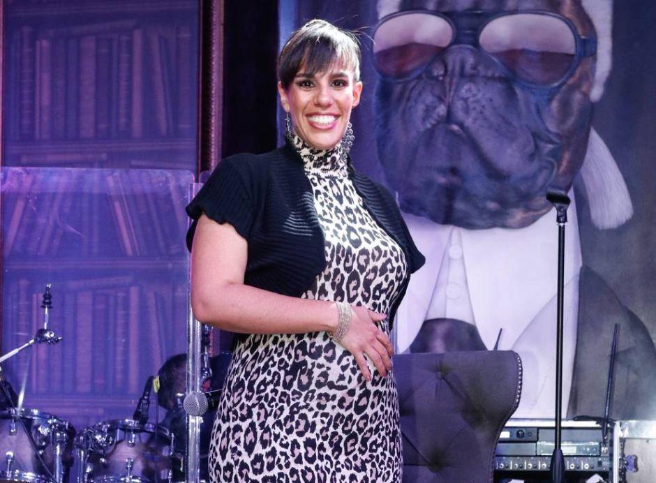 Con 5 meses de embarazo, Marysol Sosa sufre tremenda caída en pleno programa en vivo