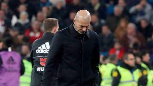 La Copa del Rey está maldita para Zidane