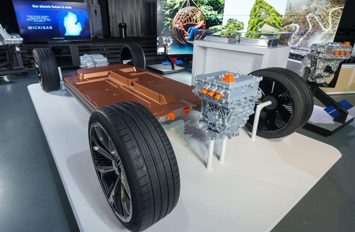 Así son las nuevas baterías de General Motors para autos eléctricos