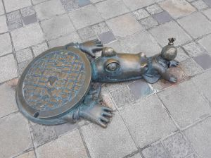 Tal vez sea cierta la leyenda de los cocodrilos que habitan las alcantarillas de Nueva York