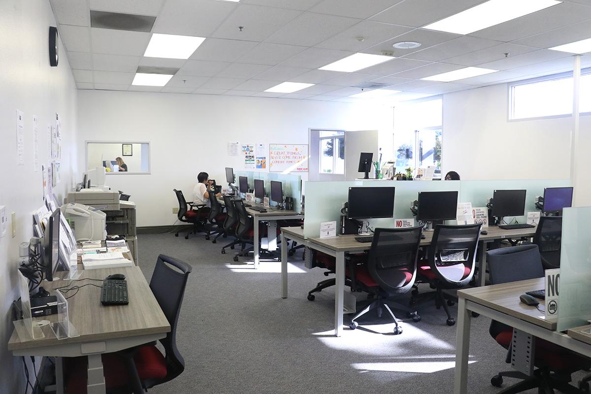 Los 19 centros de trabajo AJCC del condado de Los Ángeles estan ofreciendo servicios virtuales a trabajadores y empleadores. (WDACS)