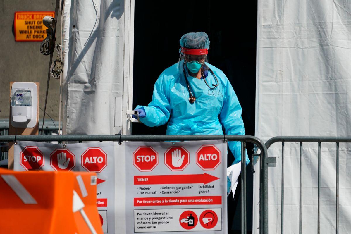 El enfermero no reveló su nombre ni el del hospital por miedo a represalias.