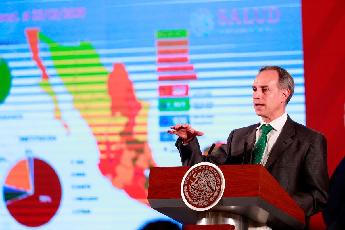 Hugo López-Gatell, la cara visible del Gobierno de México ante la crisis.