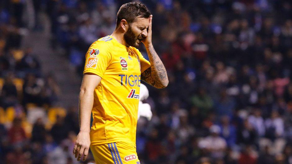 """""""Sigue grabando, payaso"""": André Pierre Gignac insulta a la prensa al terminar el Cruz Azul vs.Tigres"""