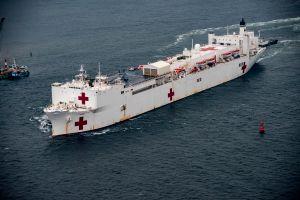 Envían el buque hospital USNS Mercy para asistir al sistema de salud de Los Ángeles