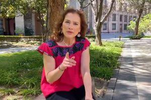 Beatriz Gutiérrez Müller, esposa de AMLO, envía mensaje a inmigrantes por coronavirus