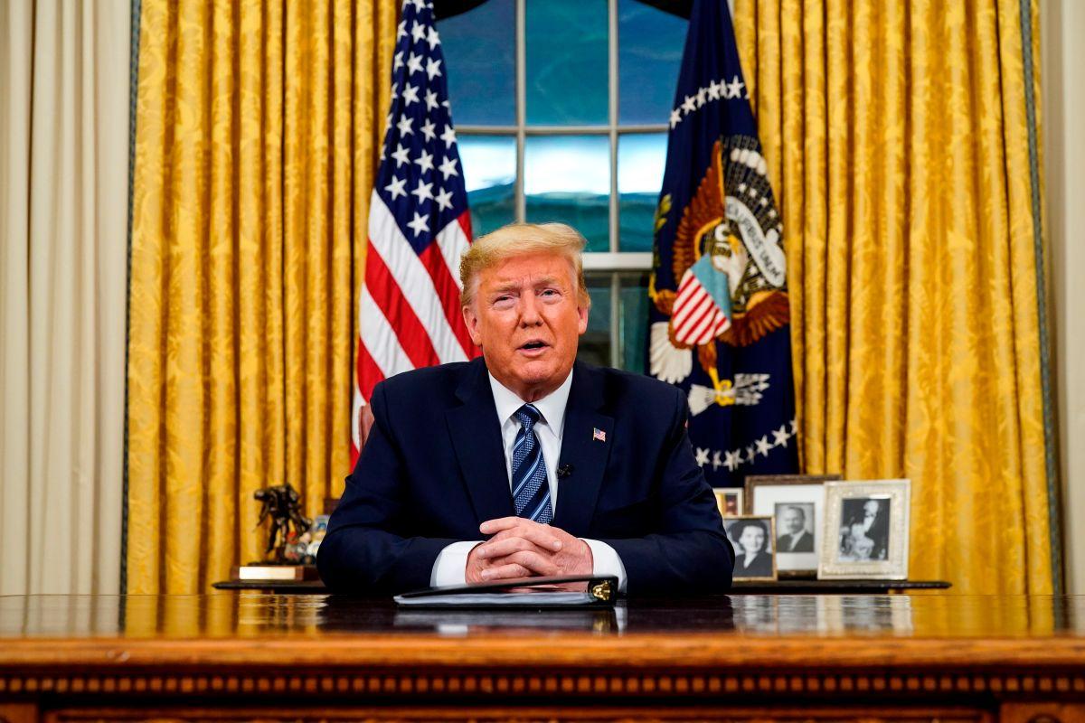 Trump suspende vuelos desde Europa durante 30 días como medida contra el coronavirus