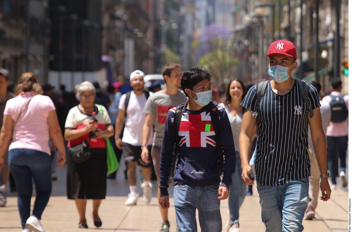 La Ciudad de México se mantiene con el mayor número de casos de contagio.