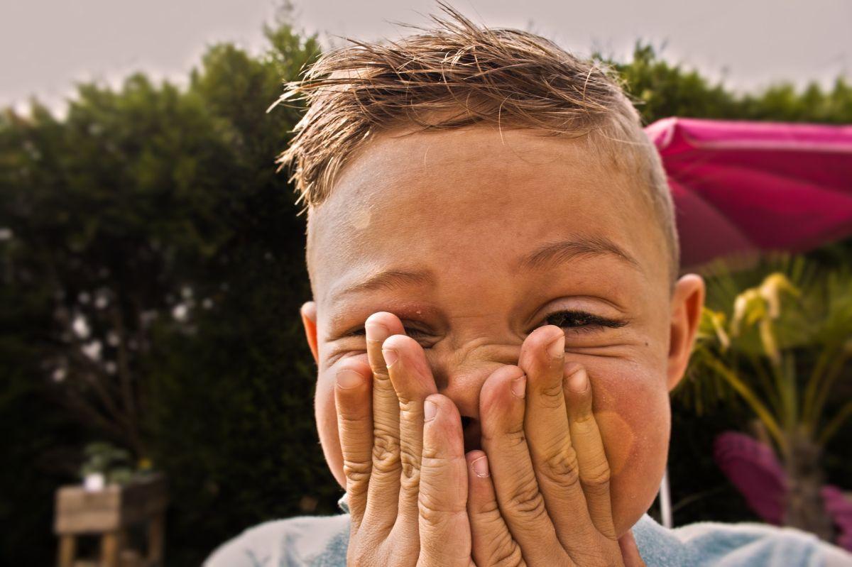 Los niños no toman precauciones correspondientes con su higiene.