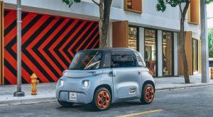 Conoce el pequeño auto eléctrico que parece una lavadora