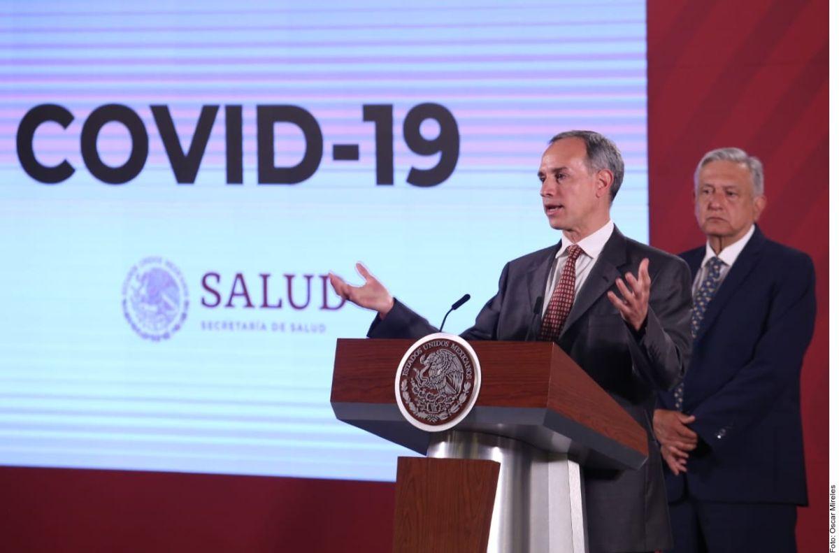 Subsecretario de Prevención y Promoción de la Salud, Hugo López-Gatell.