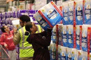Una pequeña señal de normalidad: En tiendas de H-E-B ya se puede comprar papel higiénico sin límite alguno
