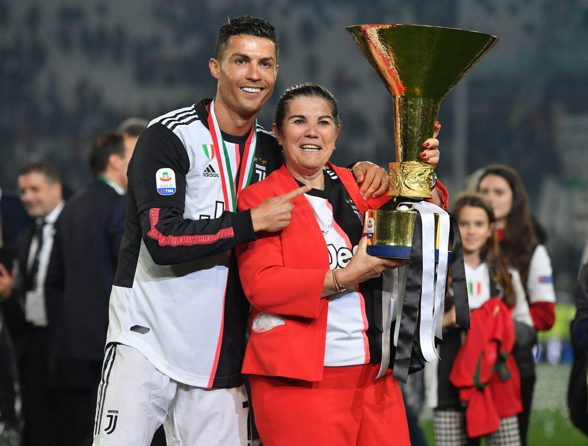 La mamá de Cristiano Ronaldo es dada de alta del hospital