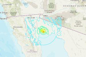 Terremoto de magnitud 5.5 en Baja California se sintió en San Diego