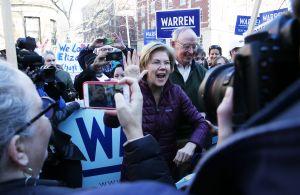 Trump se burla de los resultados de Elizabeth Warren en el Súper Martes