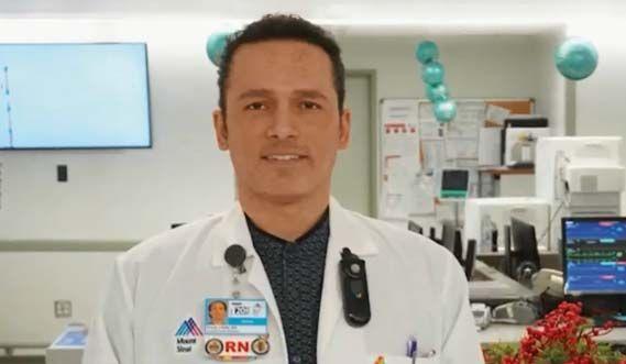 Enfermero de Mount Sinai en Manhattan murió a una semana de hospitalización por coronavirus
