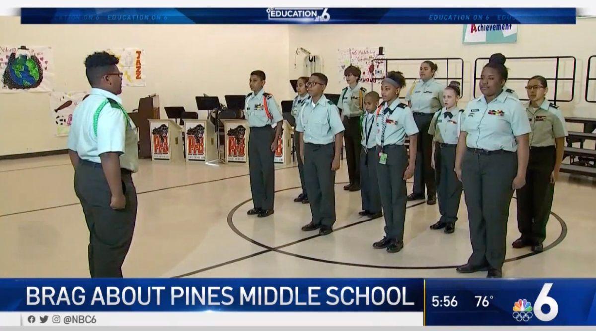 Los responsables del centro educativo quieren que los niños encuentren su pasión, que podría estar en el ejército.