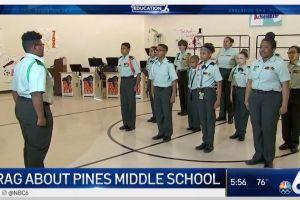 Una escuela pública de Miami educa a sus estudiantes con técnicas militares