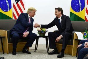 Trump se ha sometido a las pruebas del coronavirus tras reunirse con Bolsonaro en Florida