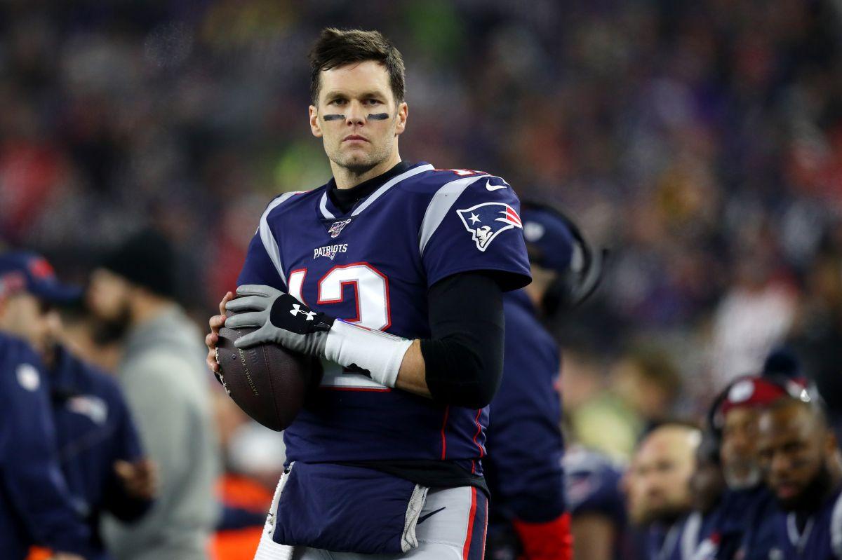 """Brady recalcó que siempre será """"un patriot""""."""