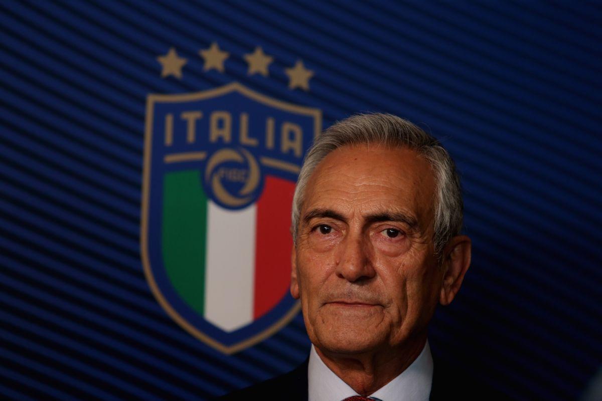 ¡Italia no quiere Eurocopa! El presidente de la federación ya adelantó su postura de cara a la junta con la UEFA