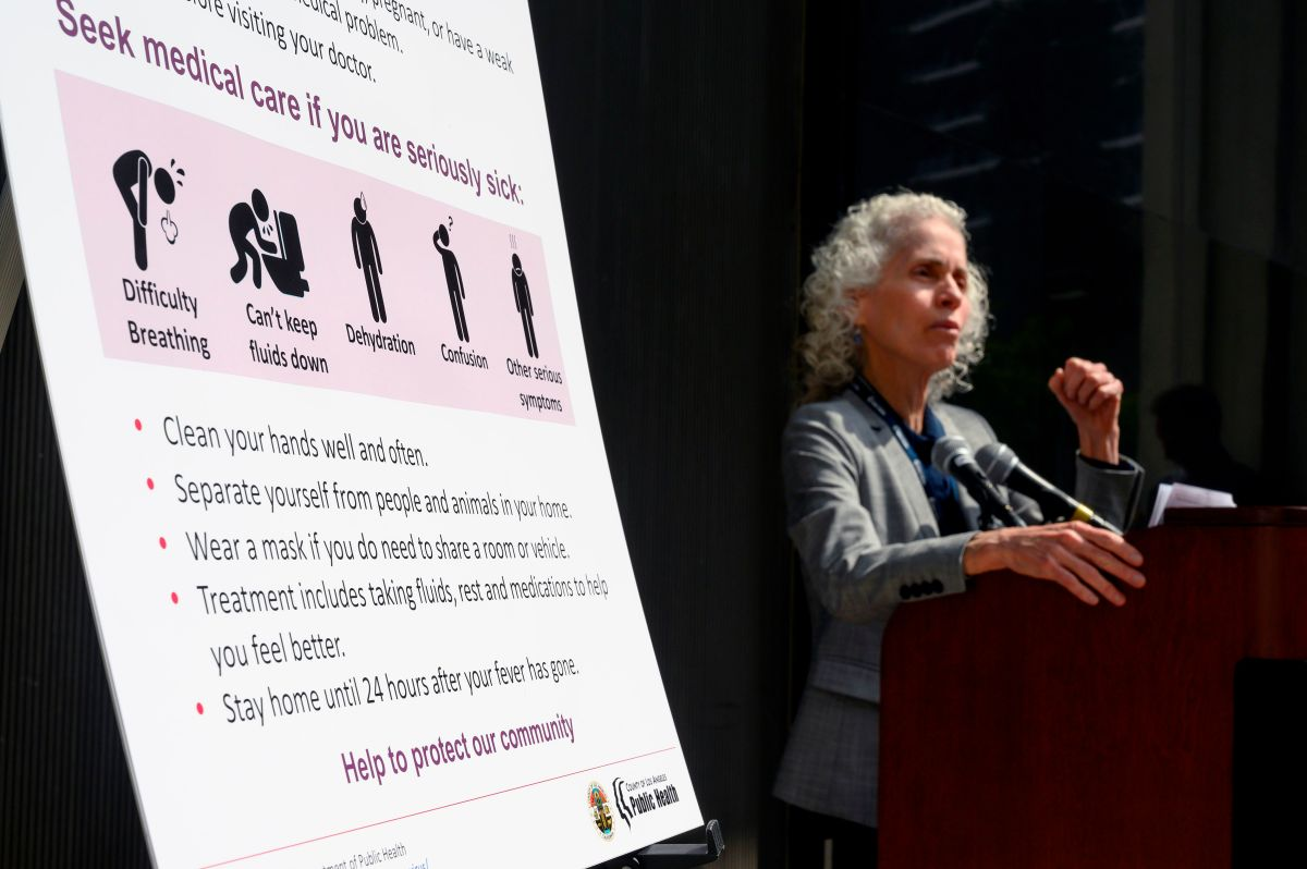 """Reportan otro récord de casos de COVID-19 en Los Ángeles y advierten situación """"catastrófica"""""""