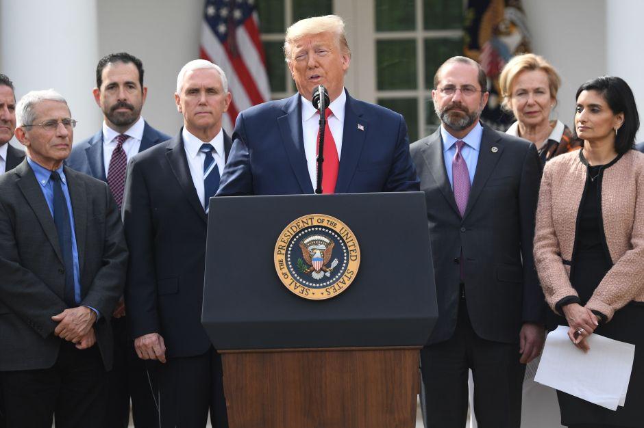 Trump declaró emergencia nacional por coronavirus