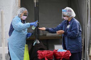 Enfermeras de California piden mejores recursos para atender la emergencia del coronavirus